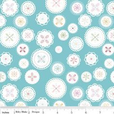 Polka Dot Stitches Collection  Lori Holt for by StashModernFabric, $3.50