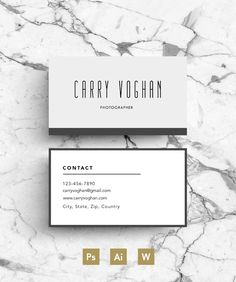 Creative Business Card template ~ Business Card Templates on Creative Market