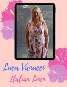 The Luca Vanucci Italian Linen Range is gorgeous - fresh, floral and also in block colours. Dresses, jackets and tops. Italian Fashion, Italian Style, New Fashion, Fifties Fashion, Top Blogs, 50 Years Old, Fashion Essentials, Fashion Tips For Women, Fashion Labels