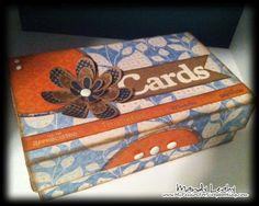 CTMH - Mandy Leahy - card box with Dreamin'