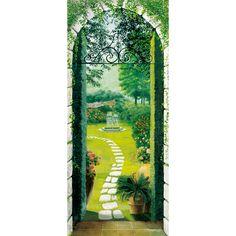 Brewster Home Fashions Ideal Decor Passageway Wall Mural & Reviews | Wayfair