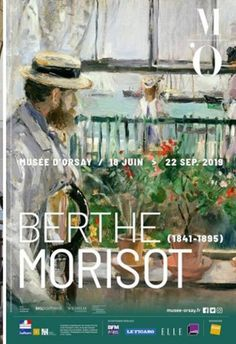 Don't miss the Exhibition of the female painter Berthe Morisot Exhibition at the Musee D'Orsay in Paris. This exhibition finishes 22 September Renoir, Julie Manet, Ile De Wight, Carpeaux, Art Exhibition Posters, Art Posters, Berthe Morisot, Museum Poster, Female Painters