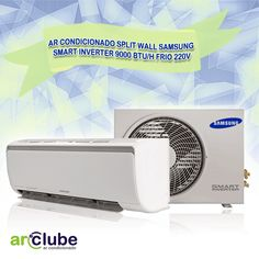 """>> Preço e informações: http://www.arclube.com.br/ar-condicionado-split-wall-samsung-smart-inverter-9000-btu-h-frio-220v.html >> Ar Condicionado Split Wall Samsung Smart Inverter 9000 btu/h Frio 220v >> """"Smart Inverter. Design e Estilo Inconfundíveis. Filtro Full HD. Virus Doctor. Auto Clean. Turbo Cooling. Unidade Externa Compacta. Função Good Sleep."""""""