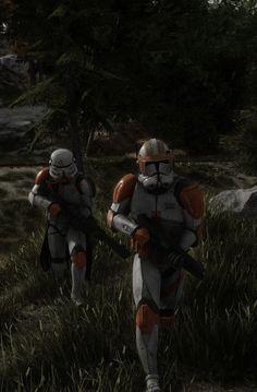 Star Wars Clone Wars, Star Trek, Guerra Dos Clones, Galactic Republic, The Old Republic, Star Wars Fan Art, Clone Trooper, Sci Fi, Army