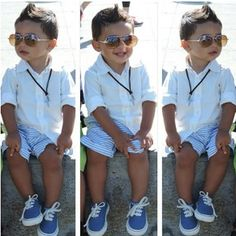 Baby Got Style: 10 Stylish Kids to Follow on Instagram. I don't have a boy, but he is adorable