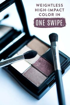 Want to create an updated smoky eye makeup look? Try adding in new colors like Mary Kay® Mineral Eye Colors in Crystalline, Moonstone, Hazelnut, Rosegold, Truffle, and Coal! These feature a long-lasting, fade-resistant formula that delivers high-impact color with one swipe