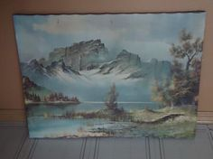 Vintage Picture/Painting 23 3/4 x 17 3/4