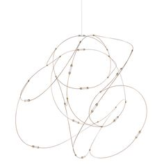 Pendant Lighting, Light Pendant, Chandelier, Luminous Flux, Semi Transparent, Light Installation, Brass Material, Bright Lights, Living Room Lighting