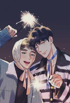 Manga Anime, Manhwa Manga, Otaku Anime, Manga Cute, Butler Anime, Handsome Anime Guys, Anime Boyfriend, Haikyuu Anime, Cute Gay