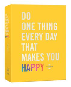 Each day presents an opportunity to find delight, whether in your surroundings, your work, your relationships, your insights, or your actions. This journal will guide you to look inside and outside yourself...