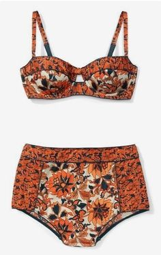 lean mean bikini. high waisted bikinis and swimsuits are the best for this summer. make your curves look great. Big or small tall or short, you will look amazing in high waisted swimwear Bikini Babes, Bikini Modells, Sexy Bikini, Floral Bikini, Bikini Beach, Bikini Girls, Summer Outfits, Cute Outfits, Pretty Outfits