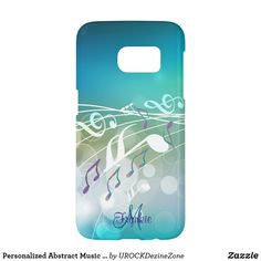 Personalized Abstract Music Design Galaxy S7 Case