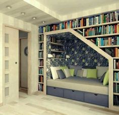 Reading Nook For Study Room.