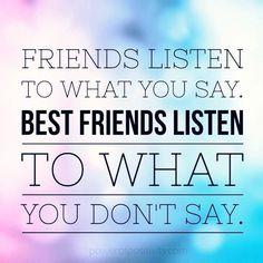 Best Friends Listen
