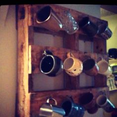 pallet wall art with hooks