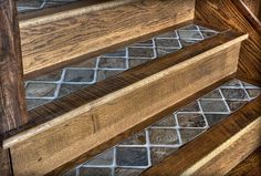Five Important Tips to Optimize Your Basement Design Idea – House Viral Gossip Tiled Staircase, Tile Stairs, Basement Stairs, Staircases, Basement Ideas, Garage Stairs, Staircase Ideas, Rustic Stairs, Wooden Stairs
