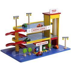 Mentari houten parkeergarage - Bandolino.nl