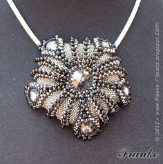 f-beads: Urchin Wings Design by Mikki Ferrugiaro