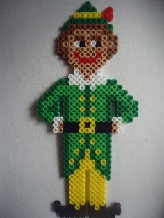 Christmas Buddy The Elf perler beads by PerlerHime