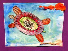 Bursley Art: Kindergarten goes Under the Sea