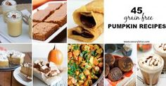 45 Grain Free Pumpkin Recipes