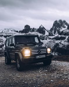 The Mercedes-Benz G-Class - Conqueror of mountains! Photo by Stefan Leitner (www.stefanleitner.com) for #MBsocialcar