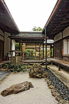 10 Top Japanese gardens to visit - Gardens of Kyoto: Ginkakuji – The silver pavilion Japanese Garden Design, Japanese Interior, Japanese House, Japanese Gardens, Asian Architecture, Garden Architecture, Sustainable Architecture, Pavilion Architecture, Residential Architecture