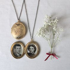 Locket, Hope is the Thing with Feathers Personalised Locket