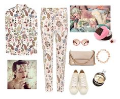 """""""out of bed look"""" by juliabachmann ❤ liked on Polyvore featuring Etro, STELLA McCARTNEY, Play Comme des Garçons, Hermès, GUINEVERE, Links of London, Harrods and Tory Burch"""