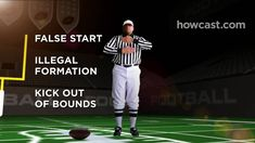 How to Know What the Referee Is Signaling While Watching Football - YouTube Football Youtube, Football And Basketball, Face Forward, Referee, How To Know, Kicks, Baseball Cards, Scouts, Adventure