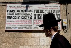 Israel's Precarious Gender Balance.  Opinion piece covering the treatment and discrimination of women by Ultra-Orthodox Jews.