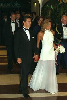 Stephanie of Monaco and her first husband, Daniel Ducret