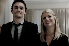 Carrie Mathison and Peter Quin, Homeland Spy Tv Series, Best Series, Series Movies, Movies And Tv Shows, Peter Quinn Homeland, Homeland Tv Series, Carrie Mathison, Rupert Friend, Lincoln And Octavia