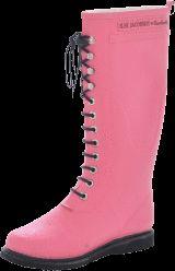 Gummistövlar-Long Rubberboot Pink