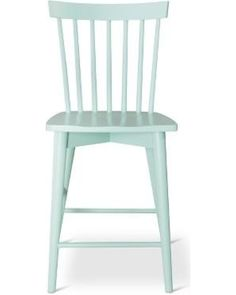 Threshold Counter Stool: Threshold Windsor Counter Stool - Mint from Target… Furniture Hardware, Furniture Legs, Hardwood Furniture, Bar Chairs, Bar Stools, Dining Chairs, Counter Height Stools, Wood Construction, Foot Rest
