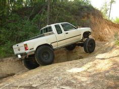 Nice clean rigs that get wheeled hard . Lets see them - Page 2 - : and Off-Road Forum Toyota Tacoma 4x4, Toyota Trucks, Hot Cars, Land Cruiser, Rigs, The Rock, Cars And Motorcycles, Offroad, Badass