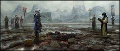 The last battle, Gary jamroz-palma on ArtStation at https://www.artstation.com/artwork/the-last-battle