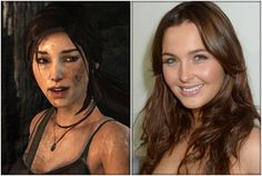 "Camilla Luddington es Lara Croft en ""Tomb Raider"""