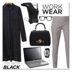 """""""Style with Long Sleeve Shirt"""" by jecakns ❤ liked on Polyvore featuring WtR London, Muse and modern"""