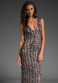FLUXUS Eden Dress in Conga - Cut out back