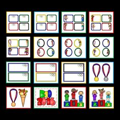 Celebrate the Summer Olympics with EDITABLE name tags and name plates. Made by Lindseyland Learning
