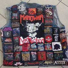 Brede from Germany #battlejacket #metalpatches #metaljacket #kutte #bandpatch #bandpatches #battlevest #heavymetal #thrashmetal #denimjacket #patchedvest #deathmetal #metalpatches #metal #wovenpatch #metalmaniacs #metalmaniac #metalvest #metalkutte #testament #venom #manowar #slayer