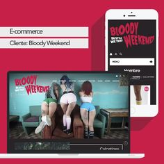 Sitio E-commerce desarrollado para @BloodyWeekend http://bloodyweekend.cl/tienda/