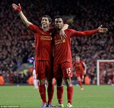 With the help of Daniel Sturridge, Suarez almost earned Liverpool a first Premier League title Liverpool Premier League, Liverpool Players, Liverpool Fc, Interview, Happy Guy, Mohamed Salah, Soccer Tips, Play Soccer, Soccer Training