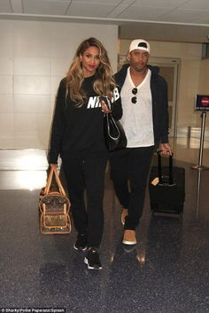 Ciara dressed down as she jets off withfiance Russell Wilson after celebrating son Future's birthday in Los Angeles   Daily Mail Online