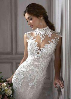 Wedding Dress Pictures, Stunning Wedding Dresses, Dream Wedding Dresses, Bridal Dresses, Wedding Gowns, Bridesmaid Dresses, Lace Wedding, Crystal Wedding, Chic Wedding