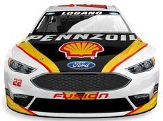 Jayski's® NASCAR Silly Season Site - 2016 NASCAR Sprint Cup Series #22 Paint Schemes