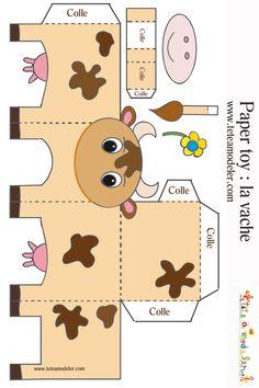 cow papercraft