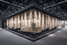 The Lobby | RC pavilion at Cersaie 2015 on Behance | design Paolo Cesaretti