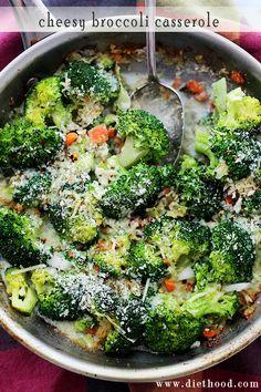 Cheesy Broccoli Casserole. Great side dish.